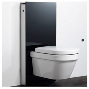 GEBERIT Monolith Slimline Glass Cistern (for Back to Wall Pan)